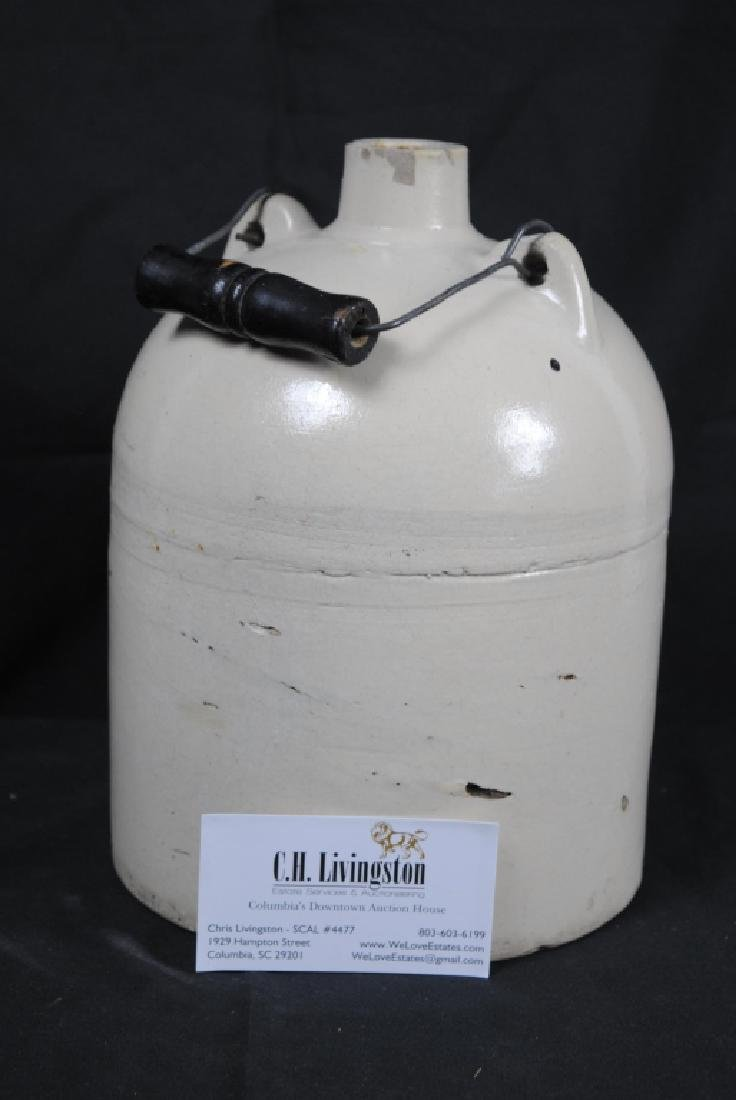 Salt Glazed Jug w/ Handle - 6