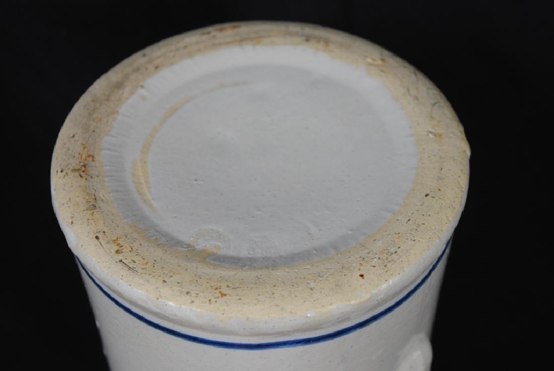 """""""Nautilus"""" Cobalt Decorated Stoneware Pitcher - 4"""