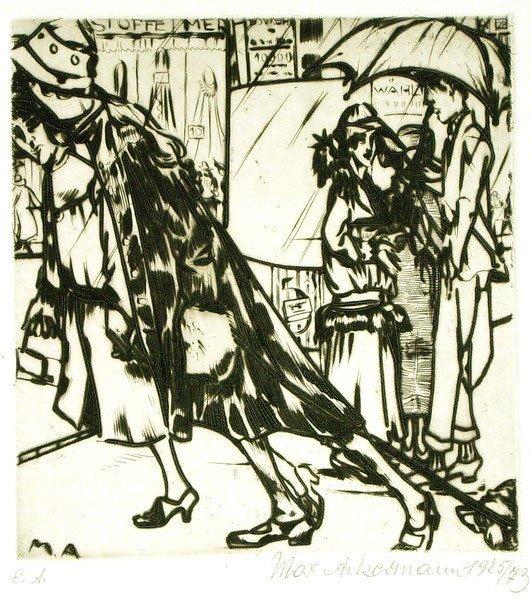 6: Max Ackermann (1887 - 1975)