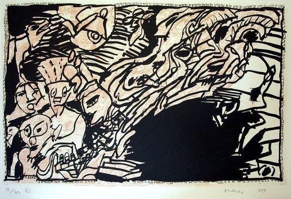 10: Pierre Alechinsky (1927)