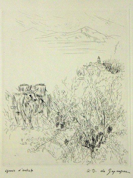 116: André Dunoyer de Segonzac (1884 - 1974)