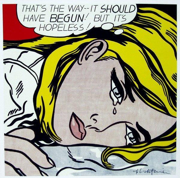 300: Roy Lichtenstein (1923 - 1997)