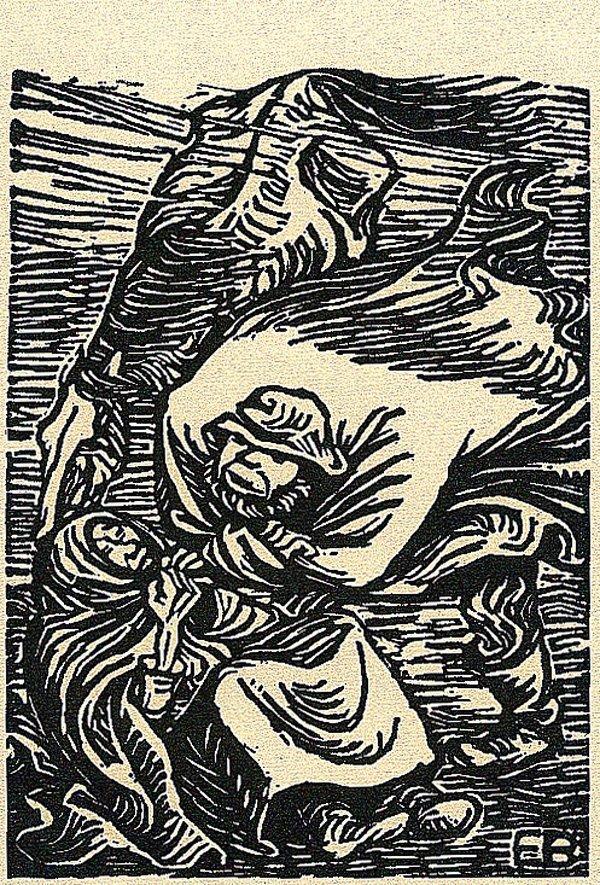 9: Ernst Barlach (1870 - 1938)