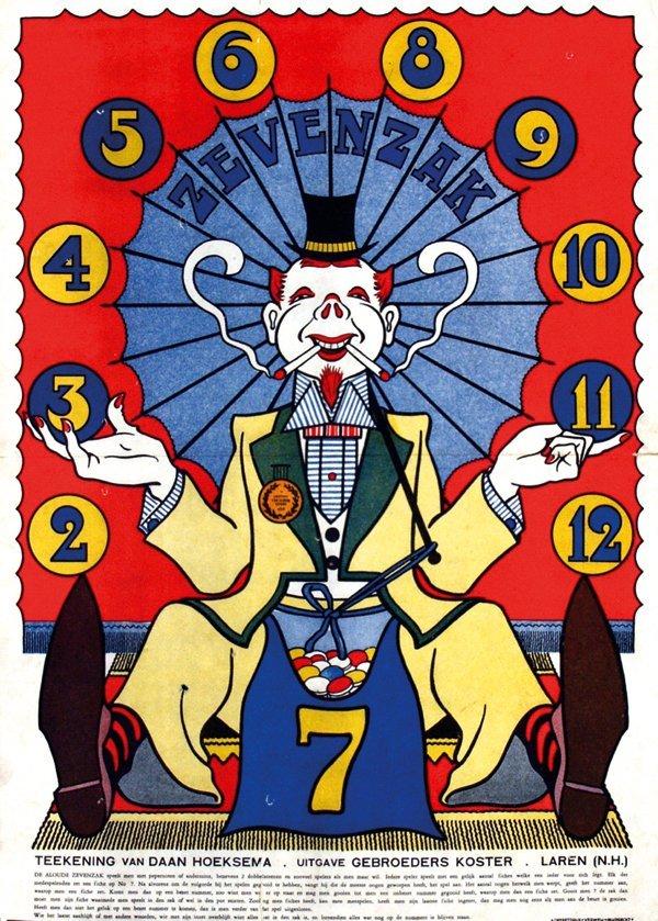 3: Poster by Daan Hoeksema - Game, Zevenzak