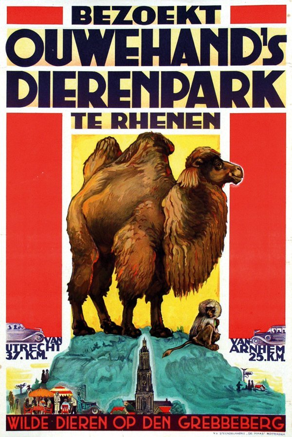 8: Poster by  Anonymous - Ouwehand's Dierenpark te Rhen