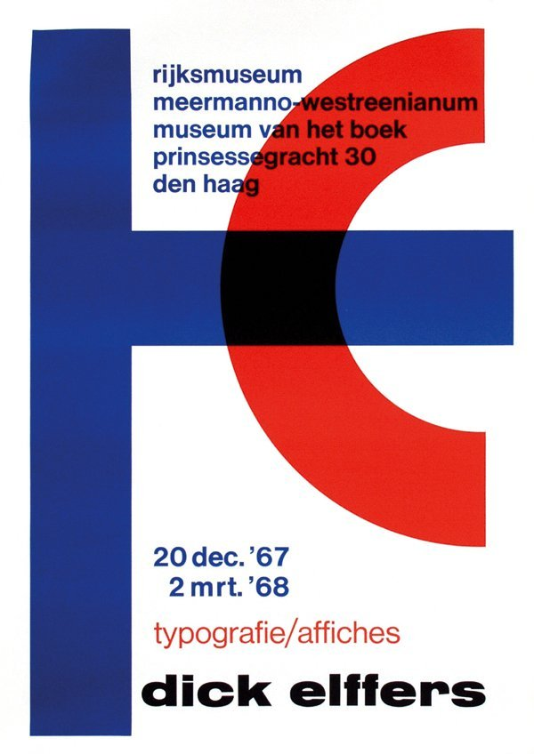 11: Poster by Dick Elffers - rijksmuseum meermanno-west