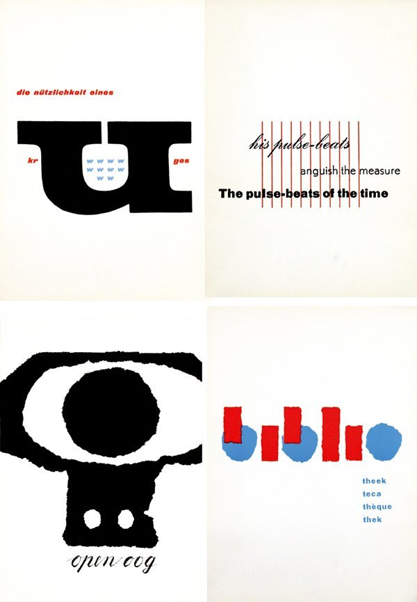 14: Posters(15) by Willem J.H.B. Sandberg - Fifteen sig