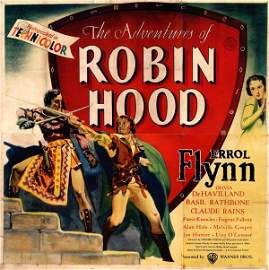 "656: Poster by  Anonymous - Movie: Errol Flynn in ""The"