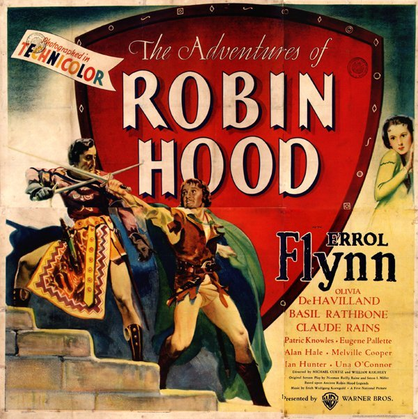 """656: Poster by  Anonymous - Movie: Errol Flynn in """"The"""