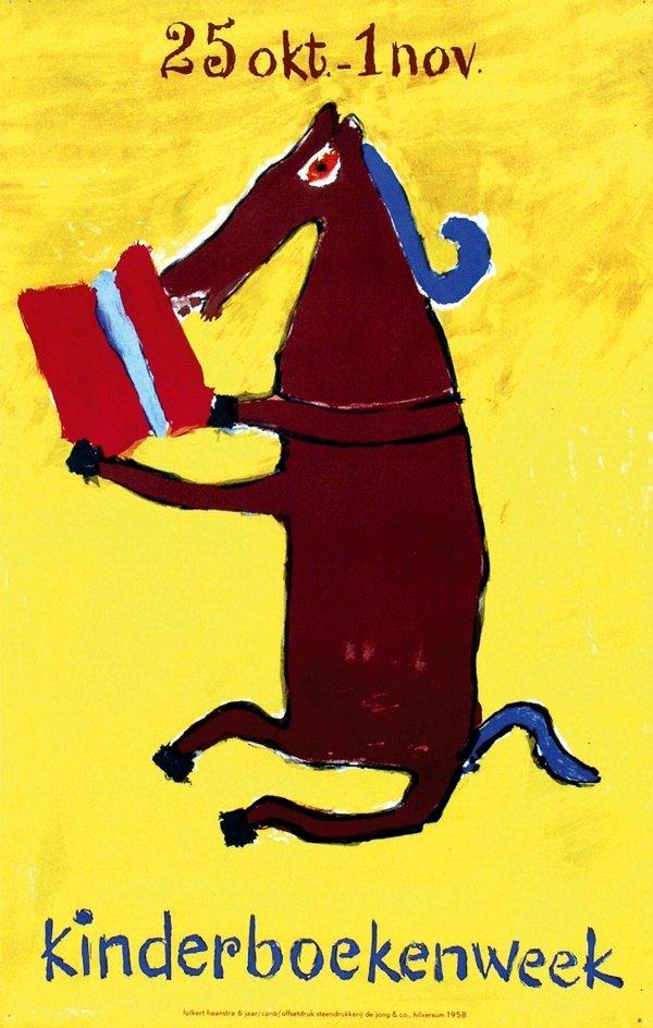 20: Posters(3) by Folkert Haanstra - kinderboekenweek
