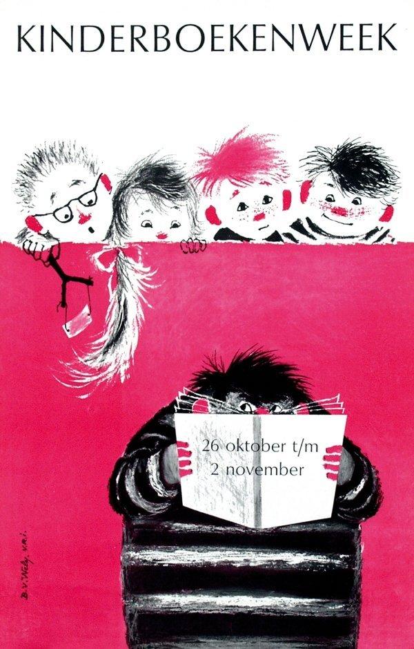 21: Posters(5) by Babs van Wely - kinderboekenweek