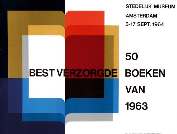 23: Posters(3) by Otto Treumann - 50 best verzorgde boe