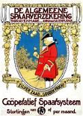 940: Poster by  Monogram WW - De Algemeene Spaarverzeke