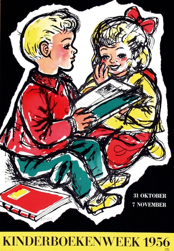 11: Posters(3) by Wim Bijmoer - Kinderboekenweek