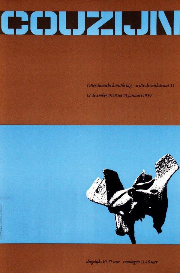 16: Poster by Wim Crouwel - Couzijn