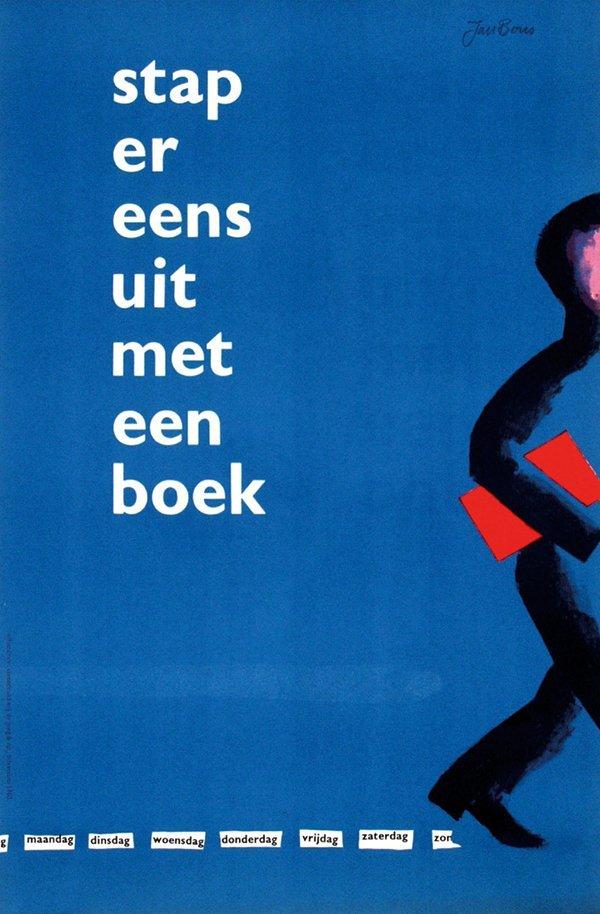 21: Posters(4) by Jan Bons - stap er eens uit met een b