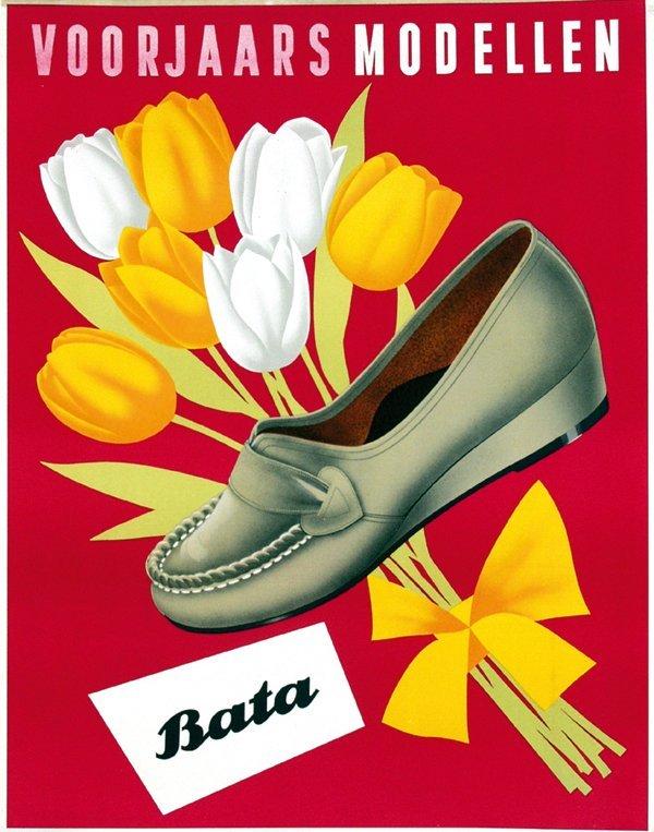 23: Poster by  Anonymous - Bata voorjaarsmodellen