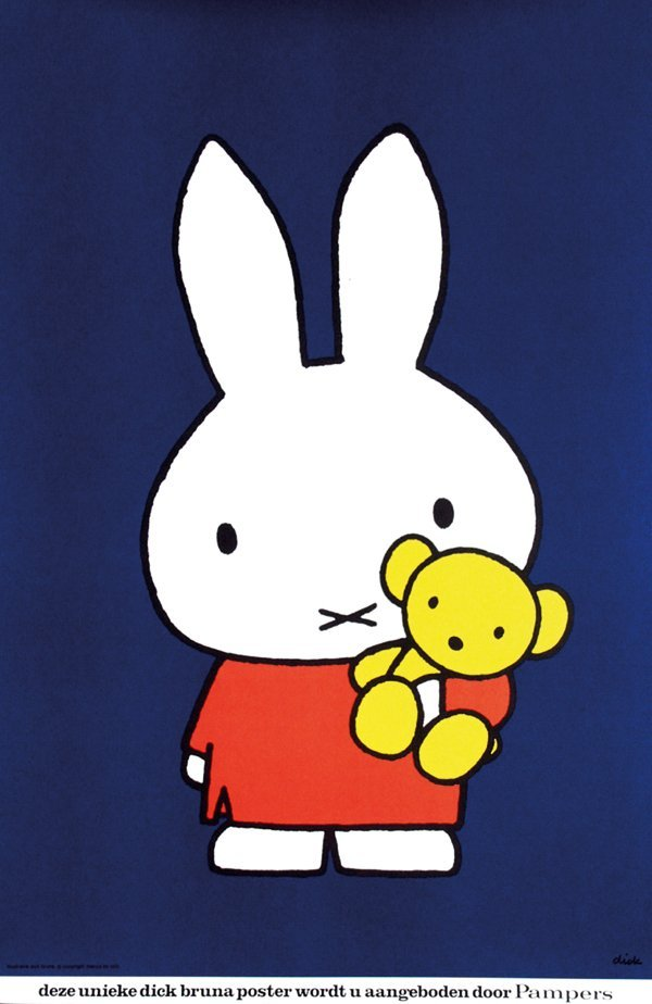 10: Poster by Dick Bruna - Pampers