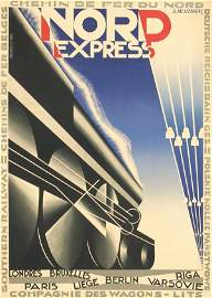 794: Poster by  Cassandre (ps. Adolphe Mouron, 1901-196