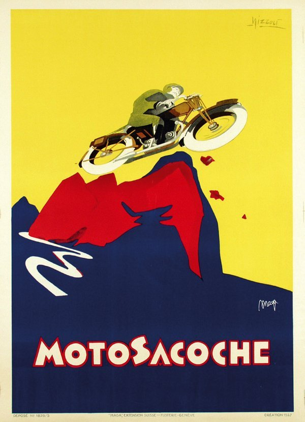 833: Poster by  Marcello Nizzoli (1887-1960) & Maga (ps