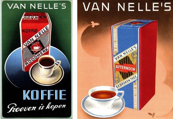 14: Van Nelle's Afternoon gebroken Thee