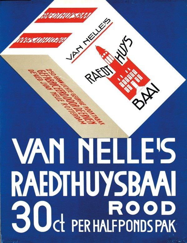 18: Van Nelle's Raedthuysbaai Rood