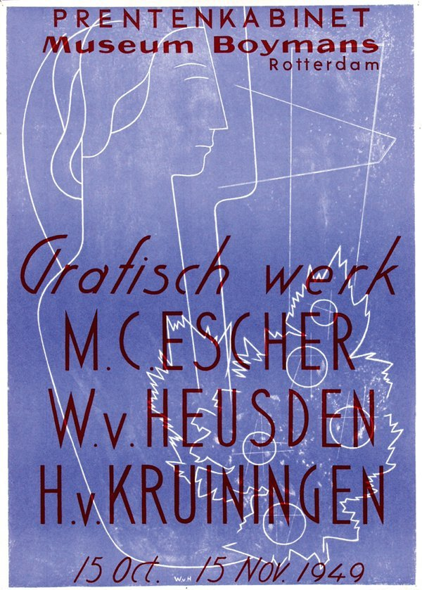 21: Museum Boymans Grafisch werk van M.C. Escher