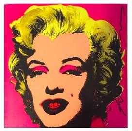 Marilyn Monroe Invitation Warhol