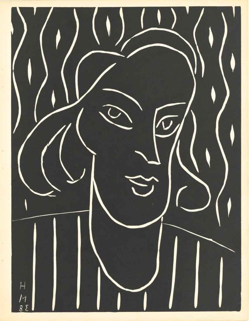 Henri Matisse Original Linocut