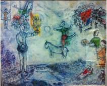 Mark Chagall, Paysage de Paris