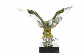 Hot Cast 24K Gold and Silver plated American Eagle