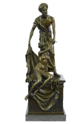 The Auctioneer By Carl Kauba Bronze Sculpture