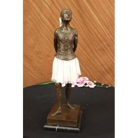 Sculpture Bronze Ballerina Hommage Reproduction Statue
