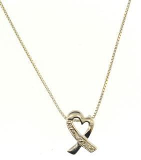 Heart Pendant Vintage Necklace