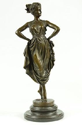 VenusIn Roman Mythology Bronze Sculpture on Marble base