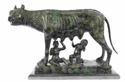 Replica The Capitoline Wolf Bronze Statue