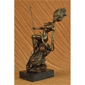 17 inches Nude Naked Bust Amazon Female Warrior With