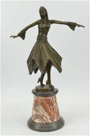 Beautiful Dancer Bronze Sculpture