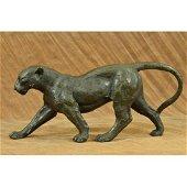 Sleek, Jaguar, Puma, Leopard, Wild Animal Bronze