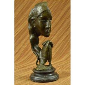 Auguste Rodin Classic Praying Lady Bronze Sculpture