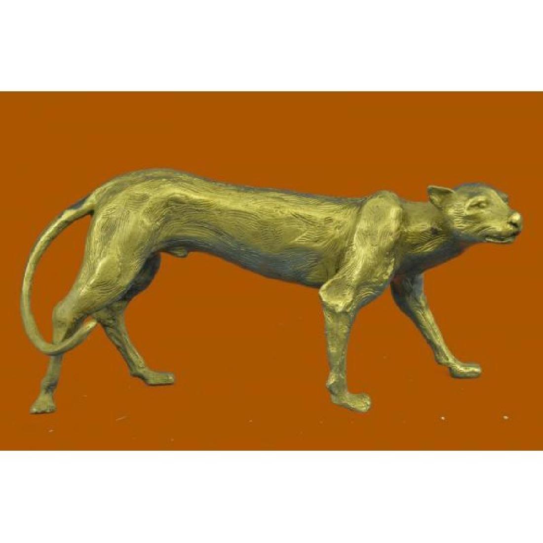 Bugatti Hot Cast Handcrafted Cougar Puma Bronze