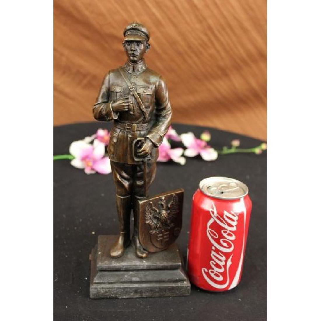 Russian Emperor Guard with Eagle Symbol Bronze