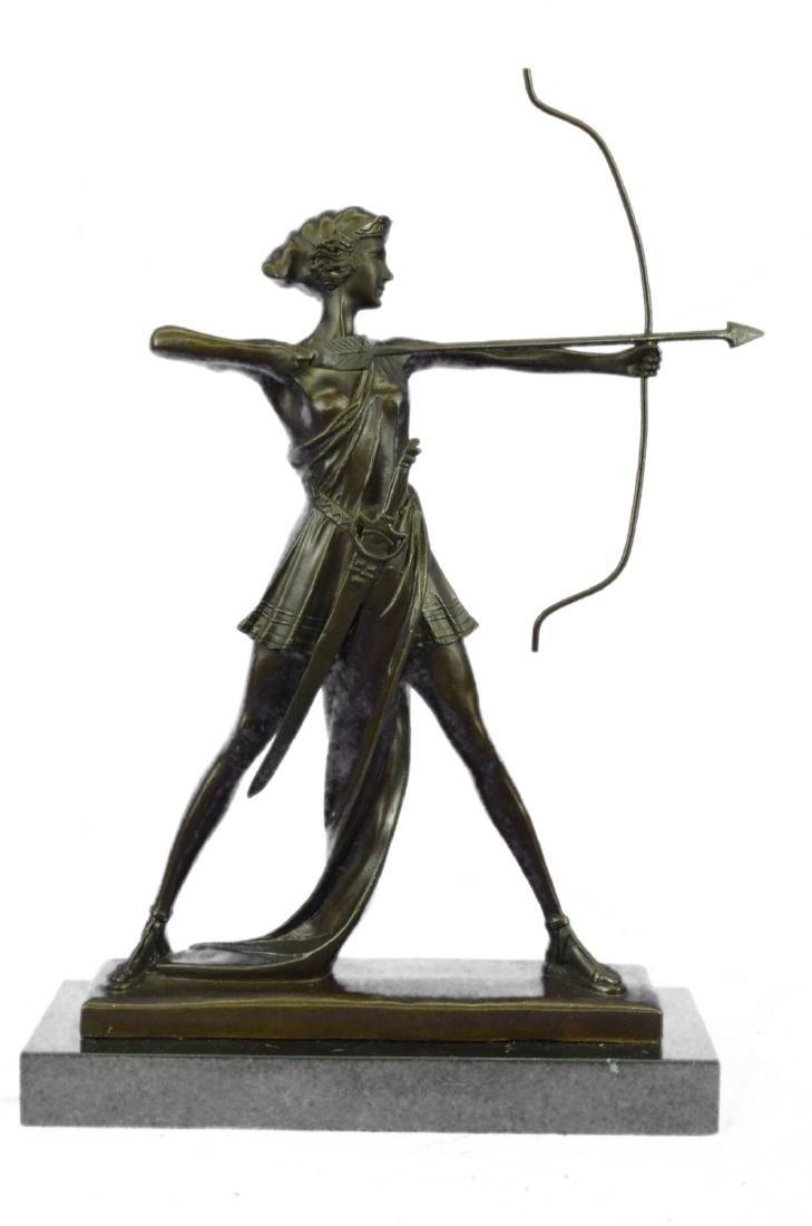 Diana Huntress Figurine Sculpture