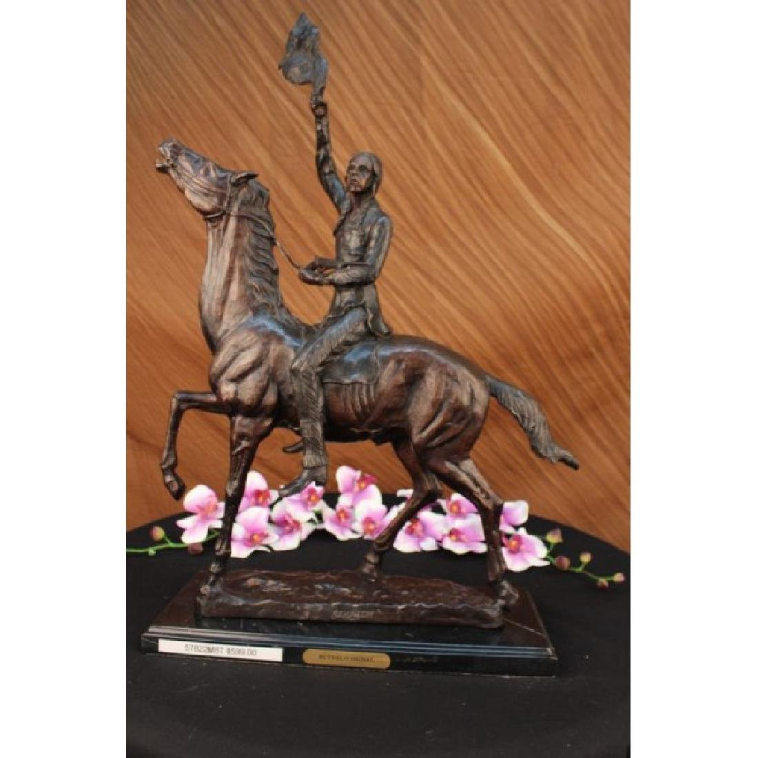 OLD WEST Indians WESTERN ART Bronze SCULPTURE FIGURINE