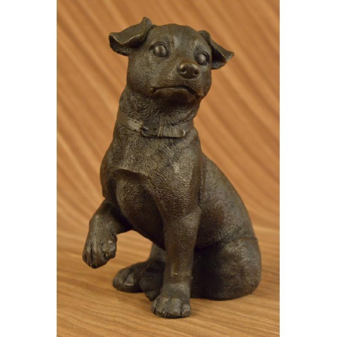 Dachshund Doxie Miniature Dog Breeder Bronze Statue