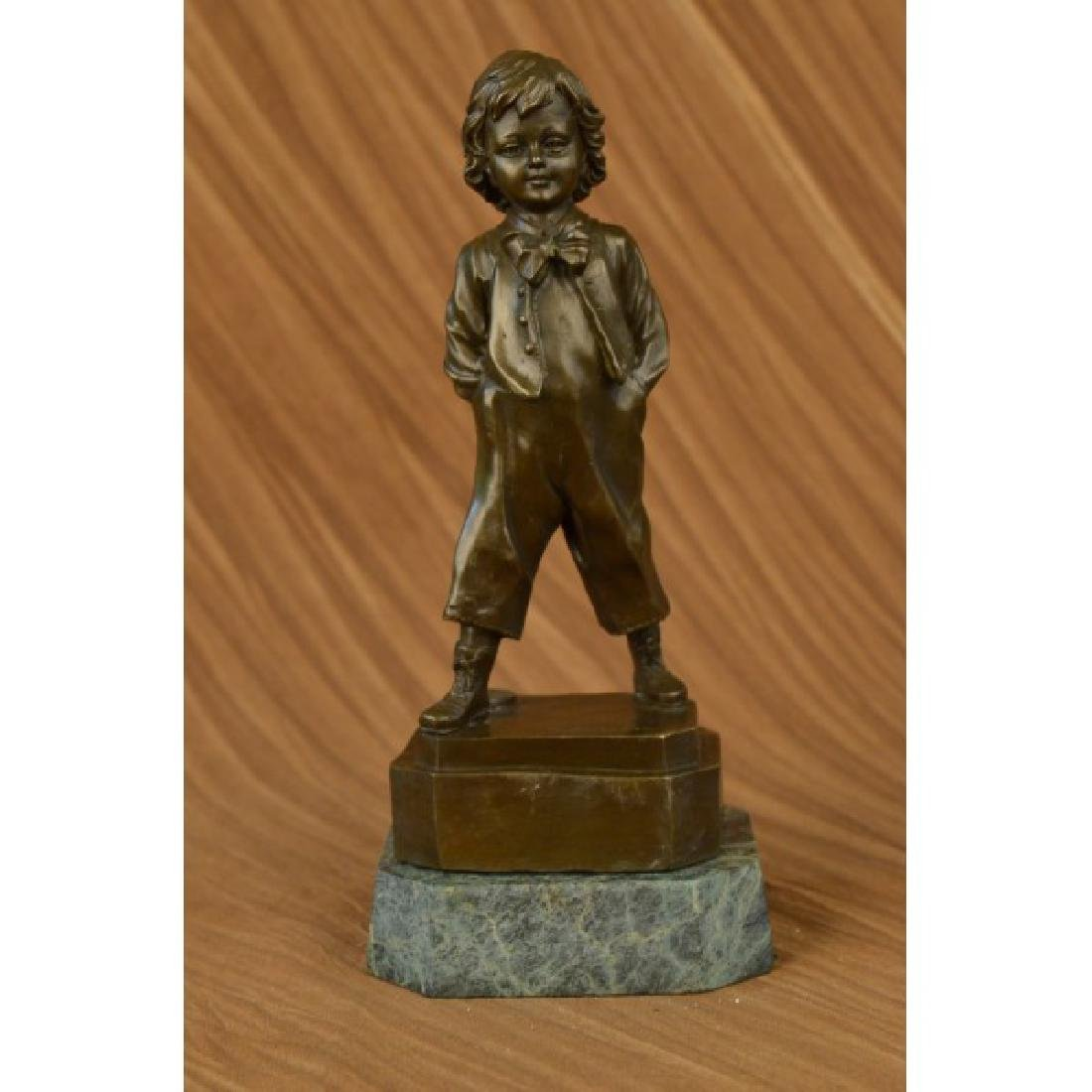 Bronze Collector Edition Buhner Art Sculpture Young