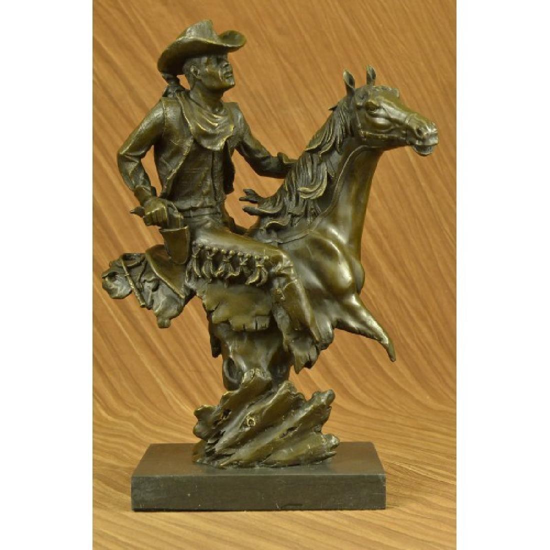 Abstract Modern Art Kamiko Outlaw Cowboy Horse Gun