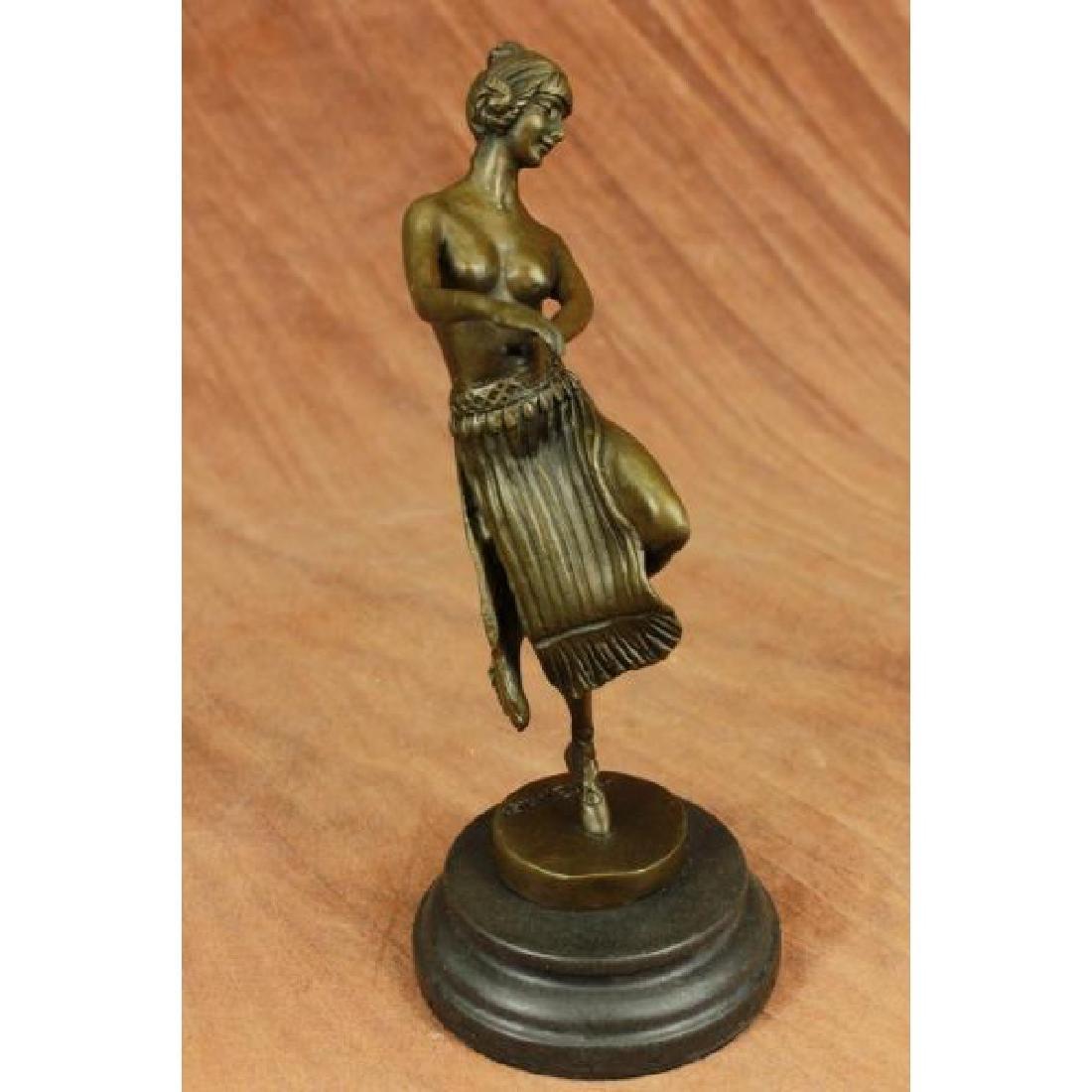 Art Deco Dancer by Eichler Bronze Sculpture Statue
