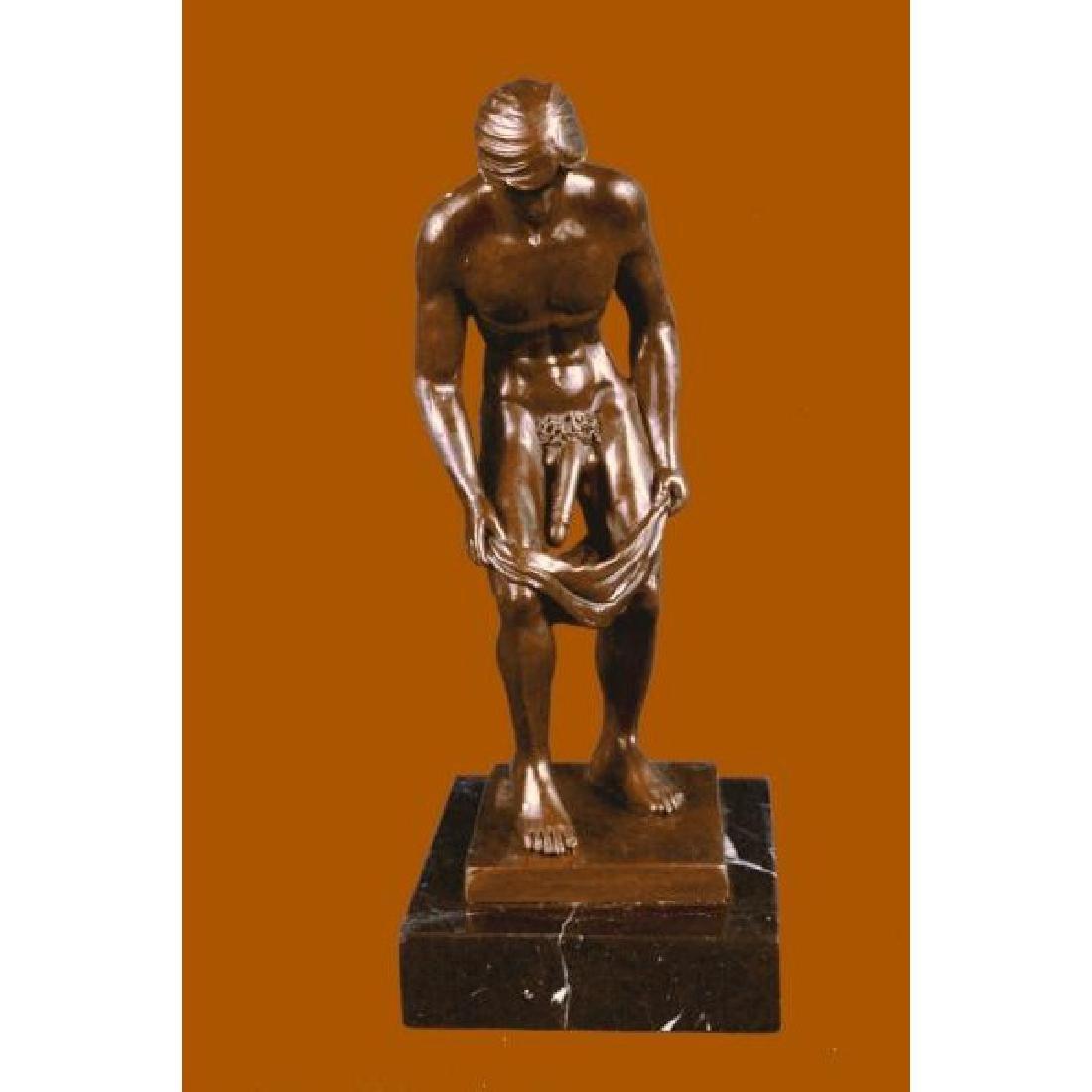 Collector Edition Nude Male Sculpture Men Statue Bronze