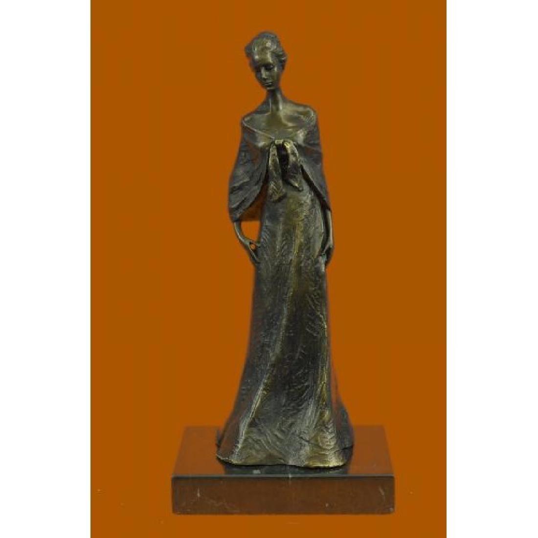 Vienna Bronze Aldo Vitaleh Maiden in Long Dress